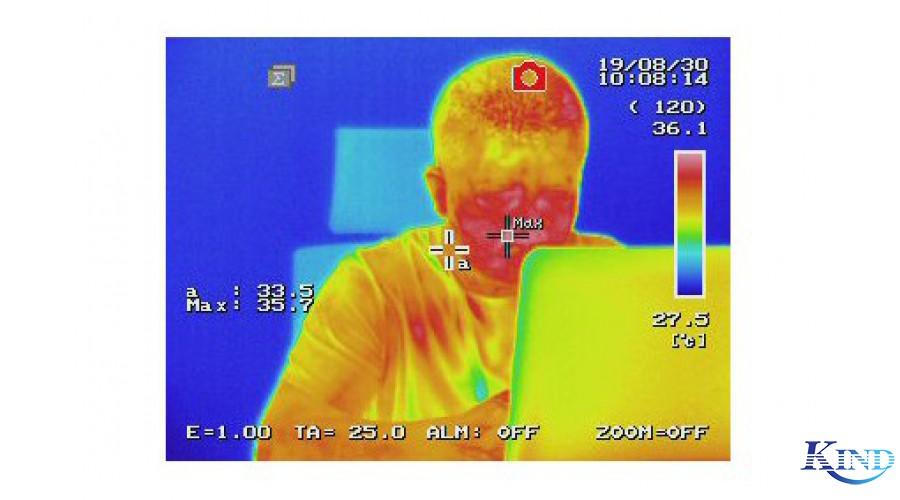 红外热成像仪体温筛查技术视频演示